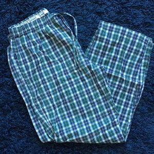 Old Navy Green Plaid Pajamas